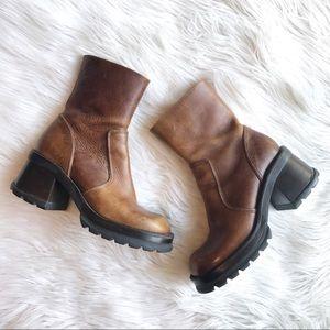 Vintage 90s Steve Madden Platform Hott Boots